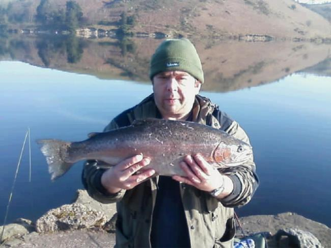 Andrew Ridge with 8lb 10oz from the breakwater